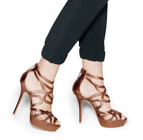 bronze high heels pin by lena duda on omg shoes