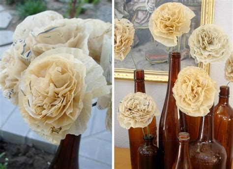 sewing pattern paper flowers sewing patterns as inspiration for your wedding design