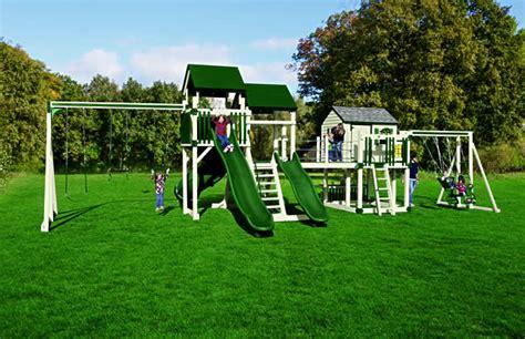 no maintenance swing set sk 45 retreat climber maintenance free swing set delivered