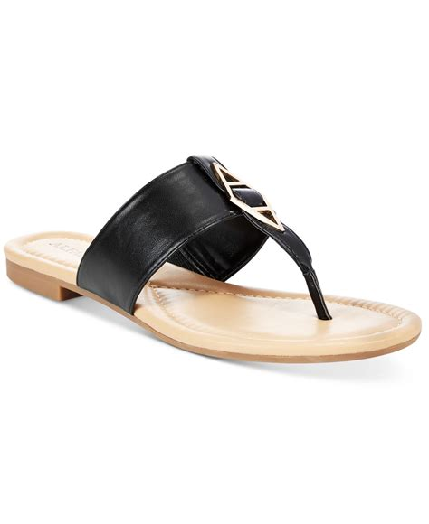 sandals at macy s alfani s herrly flat sandals only at macy s in