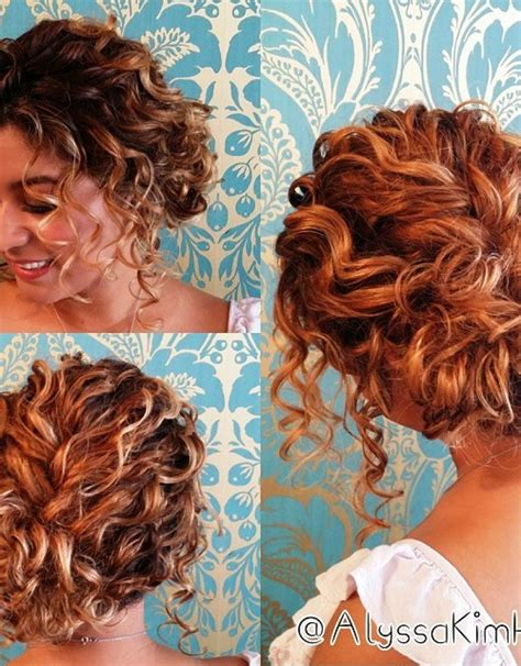 Half Up Hairstyles For Short Curly Hair Hollywood Official | half up hairstyles for short curly hair hollywood official