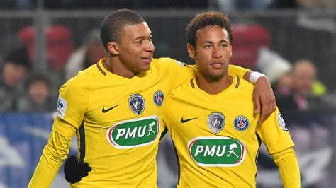 kylian mbappe and neymar mbappe more to come from neymar cavani partnership