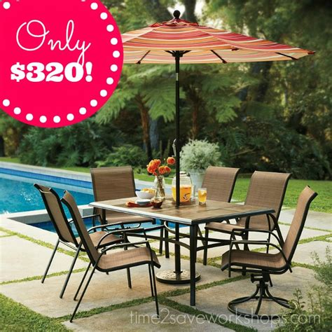 kohl s sonoma patio furniture set almost 70 off