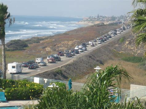 carlsbad ca evacuation from the san diego fires up pacific coast highway photo - Pch San Diego