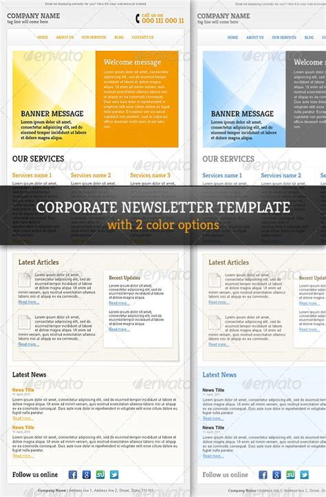 professional newsletter templates www imgkid com the