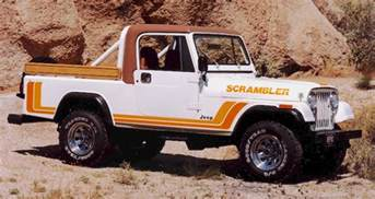 Jeep Wrangler Scrambler Inbound Jeep To Get Scrambler Name