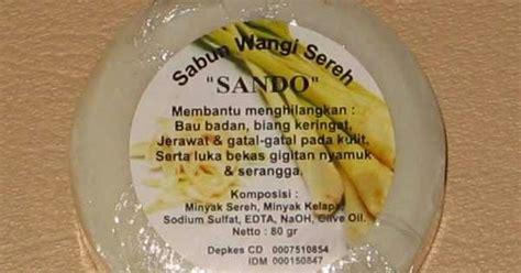 Sabun Sereh Ori Pompia sereh sando bulat pusat grosir sabun sereh murah sabun kecantikan sabun muka pusat