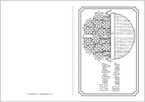 easter card templates sparklebox easter card colouring templates sb4368 sparklebox