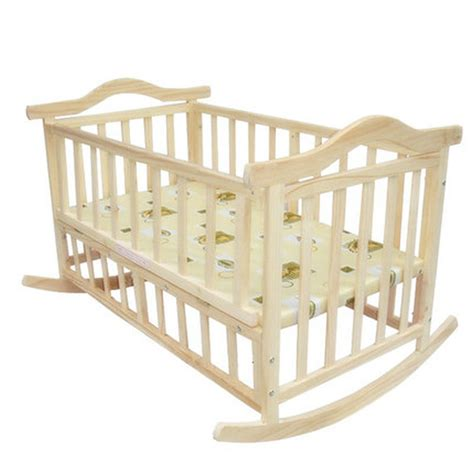 Extra Big Size Baby Bed Can Load Adult No Paint Baby How Big Is A Baby Crib