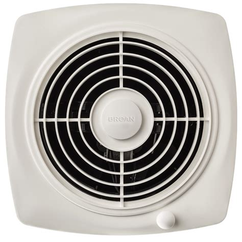 12 inch wall exhaust fan broan 509 through wall fan 180 cfm 6 5 sones white