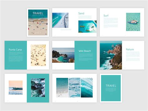 templates of brochures free travel brochure template free indesign template