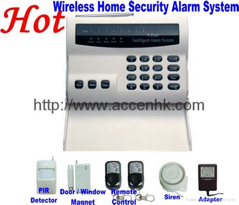 wireless 8 zone intelligent pstn telephone landline home