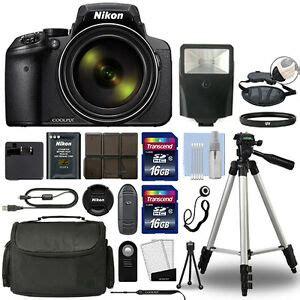 nikon coolpix p900 digital 83x optical zoom wi fi black 32gb bundle ebay