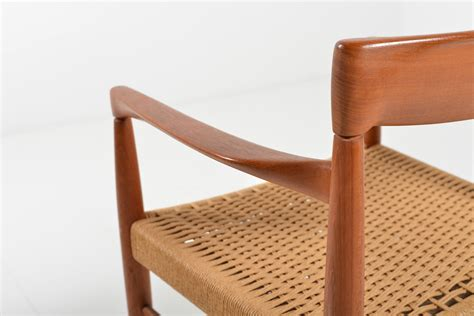 teak armchair teak armchair by h w klein for bramin for sale at pamono