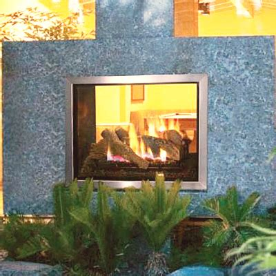 Montebello See Through Fireplace by Lennox Montebello See Through