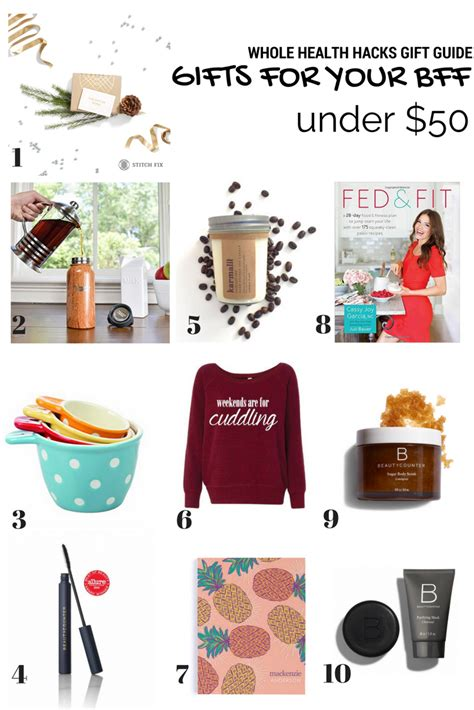 holiday gifts for your best friend whole health hacks