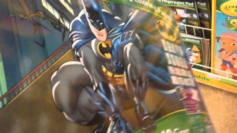crayola giant coloring pages batman batman giant coloring pages by crayola youtube