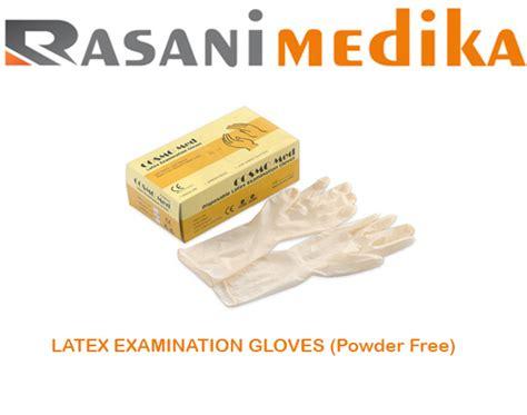 Sarung Tangan Examination Glove examination gloves powder free rasani medika