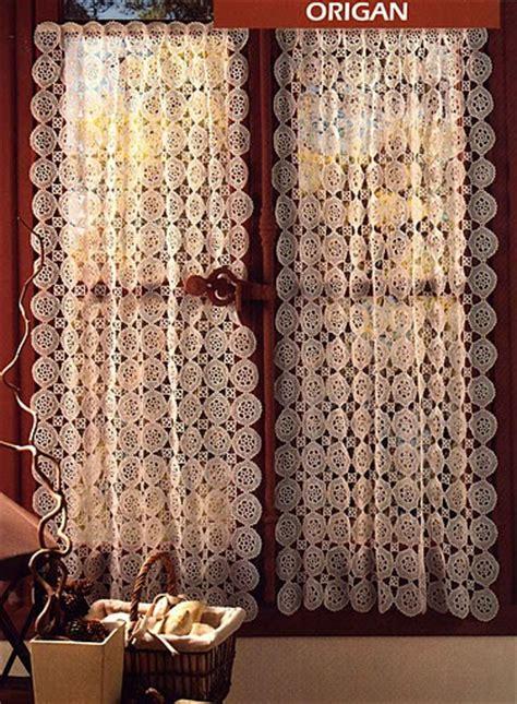 tende all uncinetto per finestre tende all uncinetto passione mamma e casalinga
