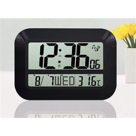 buy digital clock aliexpress com buy large display lcd led digital wall