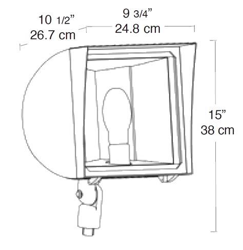 qt layout weight fxh150qt rab lighting
