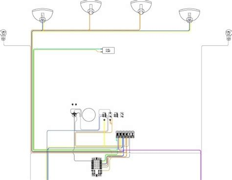 chain on one switch wiring diagram lights wiring