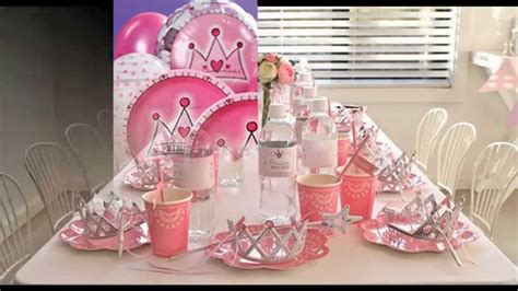 birthday decoration ideas at home youtube princess party themes decorations at home ideas youtube