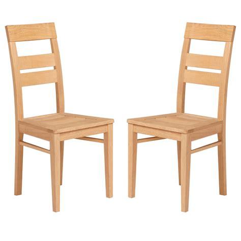 chaise de salle chaises de salle a manger en teck