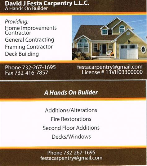 free general contractor business card templates contractor business cards show your business card page 10