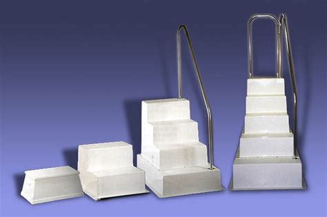 boarding steps products on display fort lauderdale - Boat Show Boarding Steps