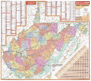west towns map west virginia wall maps national geographic maps map