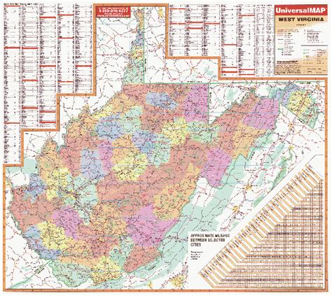 city map of west virginia west virginia wall maps national geographic maps map
