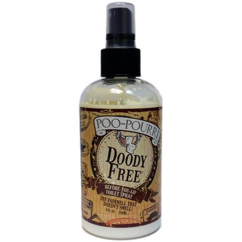 bathroom scent poo pourri preventive bathroom odor spray doody free 8 oz
