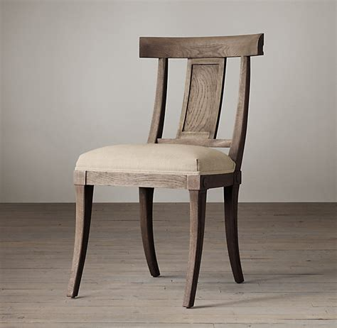 restoration hardware dining chairs the klismos chair mm interiors inc
