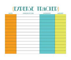 free daily expense tracker excel template 18 expense tracking templates free sle exle