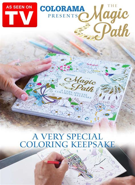 colorama coloring book review colorama magic path coloring book drleonards