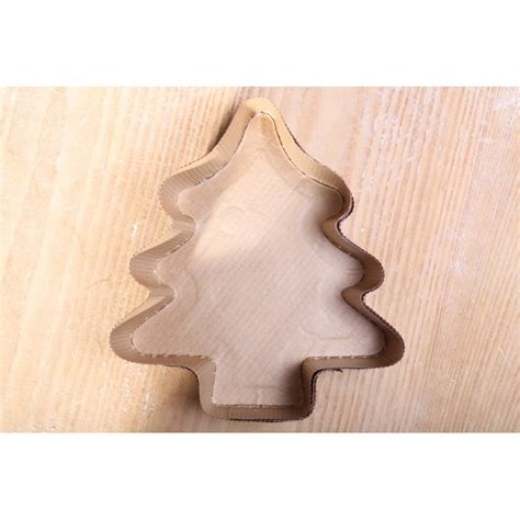 Paper Mold - paper baking mold tree weekend bakery