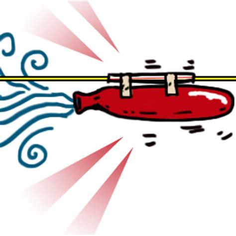 Balon Roket 1 make a balloon rocket sciencebob