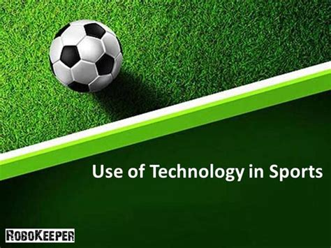Use Of Technology In Sports Authorstream Sports Powerpoint Templates