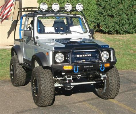 jimny katana samurai roof rack with blue cage zuk pinterest roof