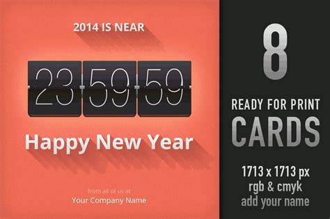 new year card printing happy new year card templates for photoshop