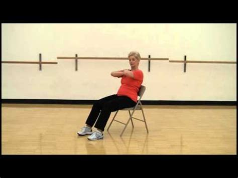 smart abdominal and exercises in a chair