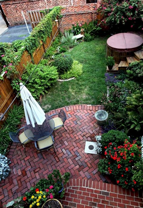 Small Backyard Patio Landscaping Ideas Small Backyard Patio Garden Design Ideas