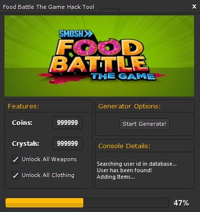 game mod tool download food battle the game hack tool 2014 updated version free