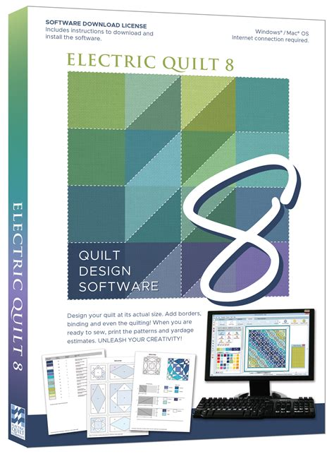 Patchwork Software - designs patchwork quilting software