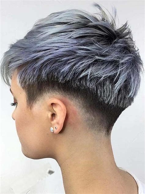 pixie hairstyle full on top tapered back for women top 30 undercut short pixie haircuts for 2018 stylescue
