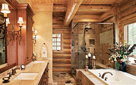 Rustic Western Home Decor by Stylish Western Bathroom
