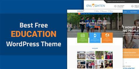 education theme blogspot best free education wordpress themes