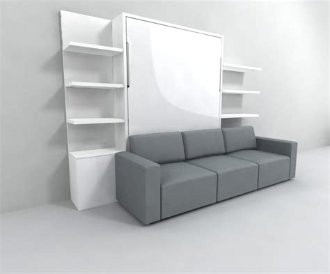 wall bed clean murphysofa sectional wall bed expand furniture