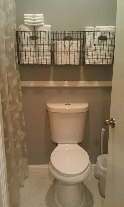 toilet storage ideas  extra space